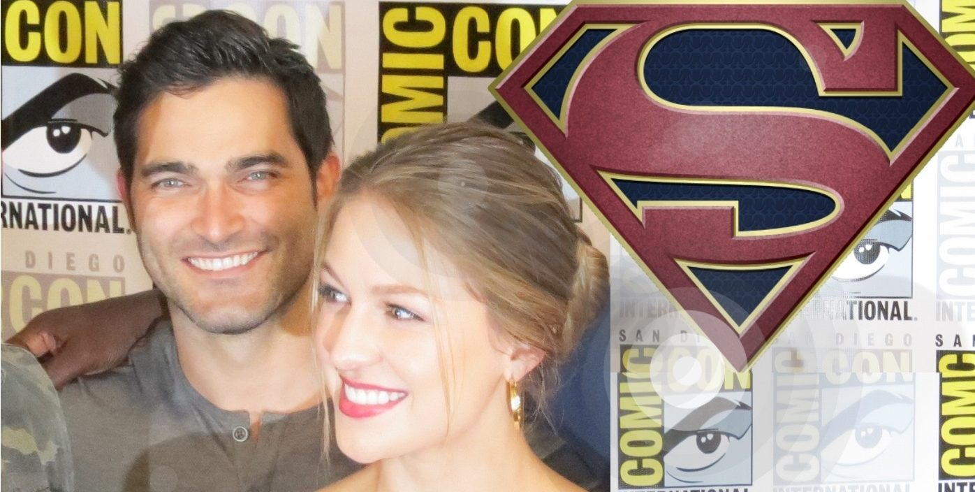 Tyler Hoechlin Superman Supergirl