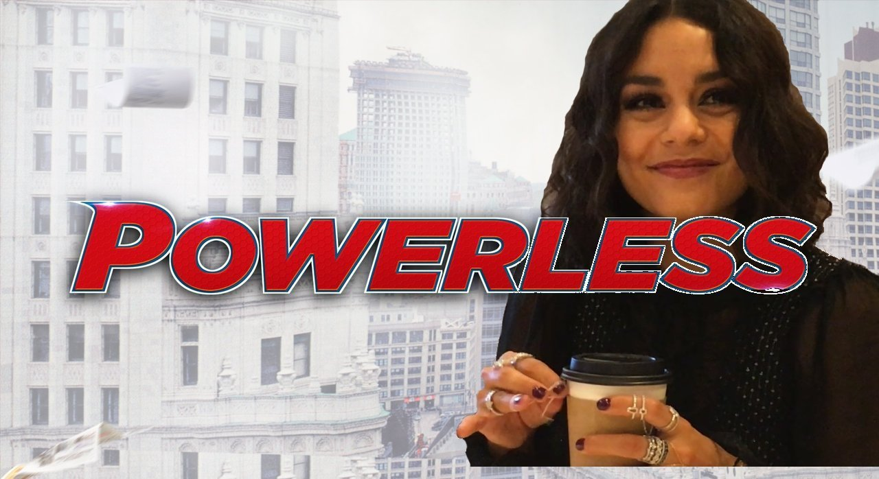 Vanessa Hudgens Powerless NBC DC Comics