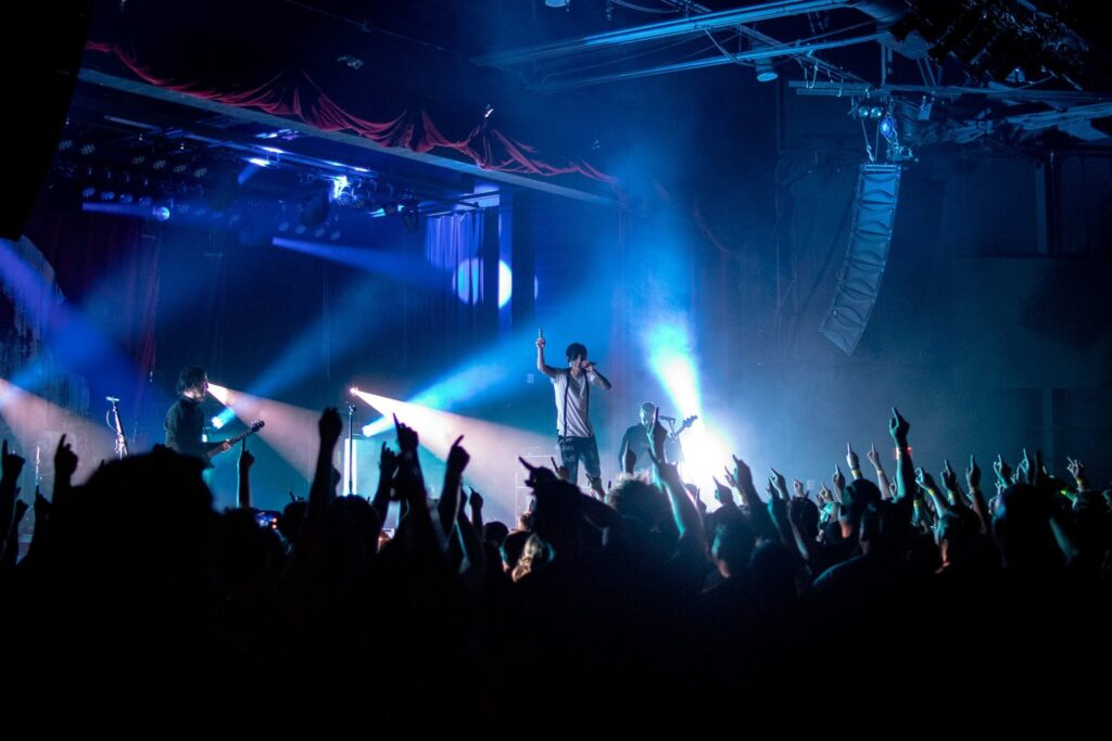 Crown the Empire performs at the Marquee Theater in Tempe, AZ on March 29, 2019. Photo by Brent Hankins