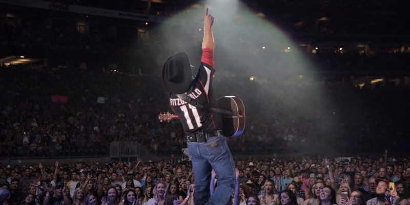 Garth Brooks performs at State Farm Stadium in Glendale, AZ on March 23, 2019. Photo courtesy of the artist.