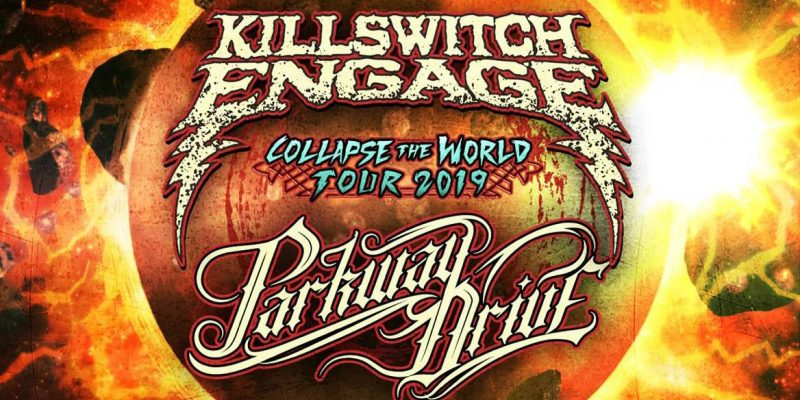 Killswitch Engage and Parkway Drive have confirmed plans for a spring tour