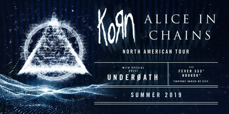 Korn and Alice in Chains will embark on a co-headlining tour in summer 2019
