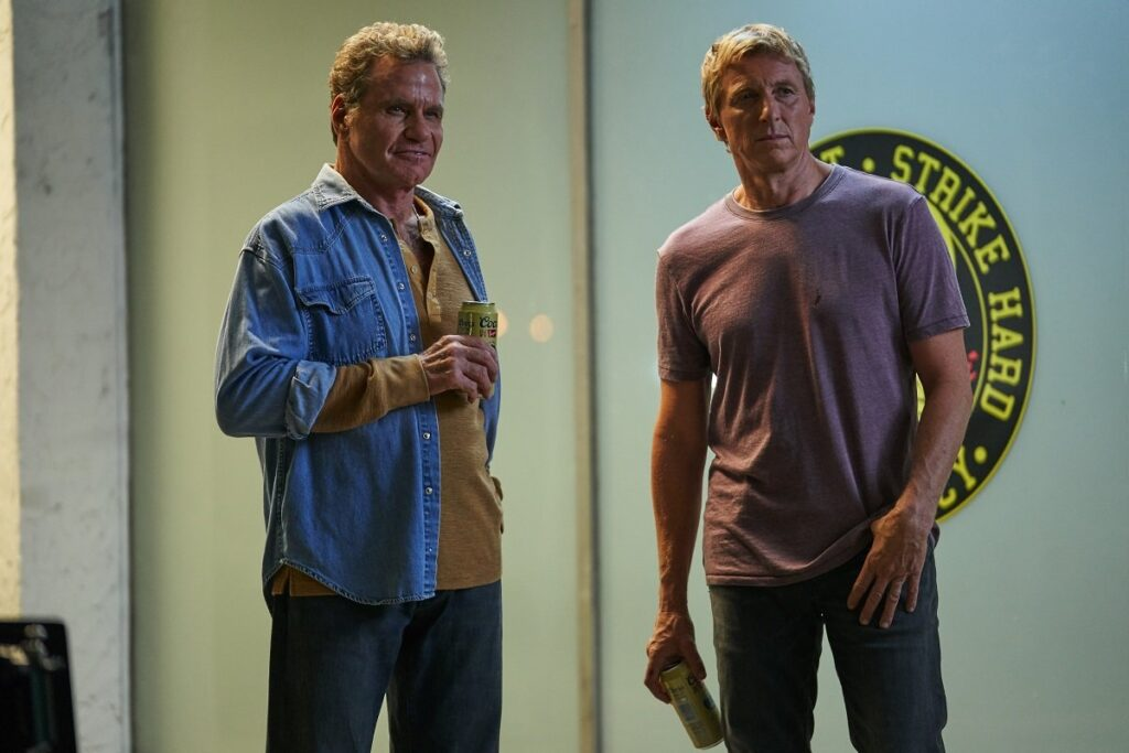 Cobra Kai Season 2 William Zabka Martin Kove