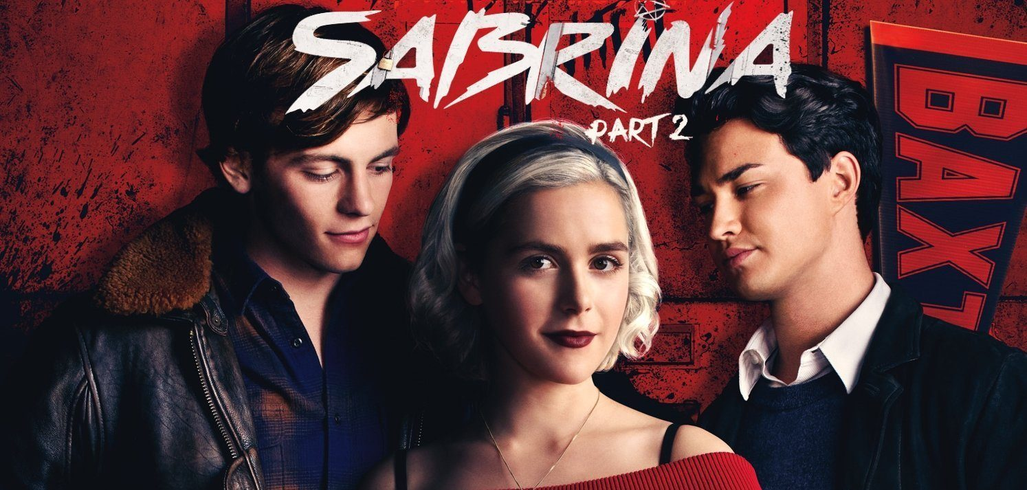 Sabrina Part 2 Kiernan Shipka Ross Lynch Gavin Leatherwood