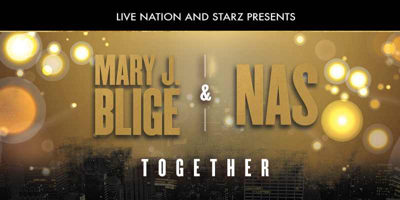 Mary J. Blige and Nas prepare to embark on a co-headlining tour of North America.