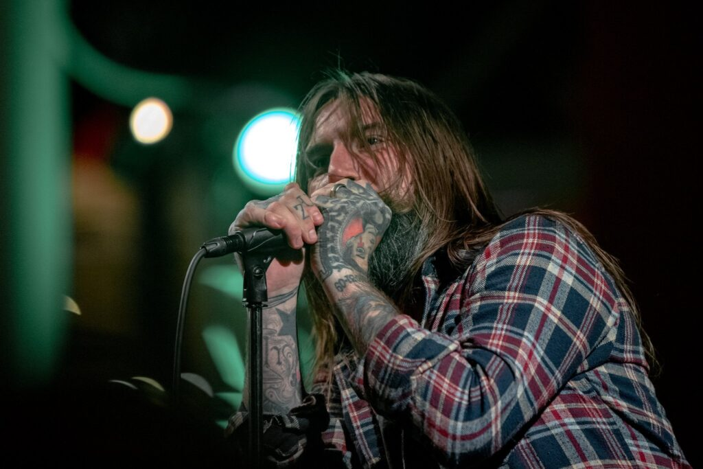 Keith Buckley of The Damned Things