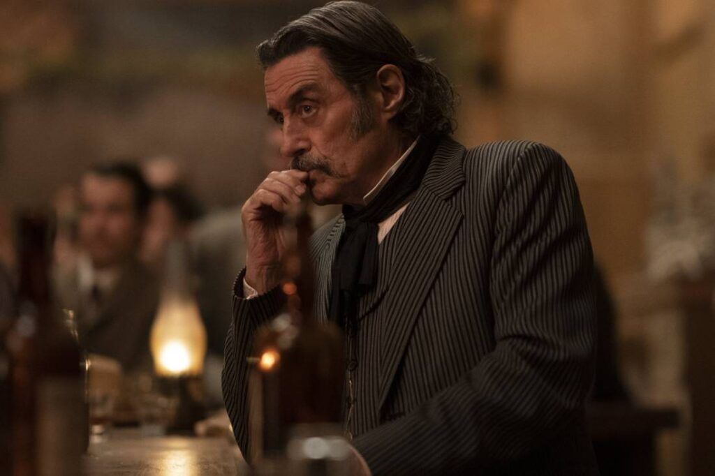 Ian McShane in Deadwood: The Movie