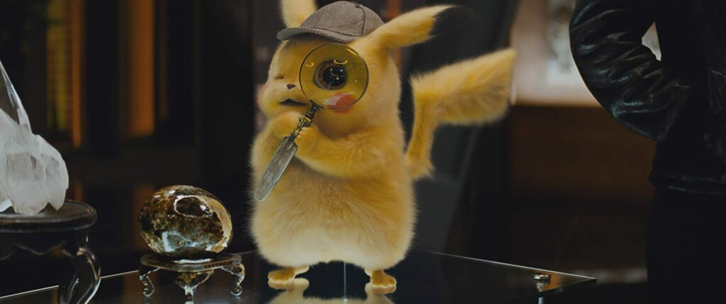 Ryan Reynolds in Pokemon Detective Pikachu