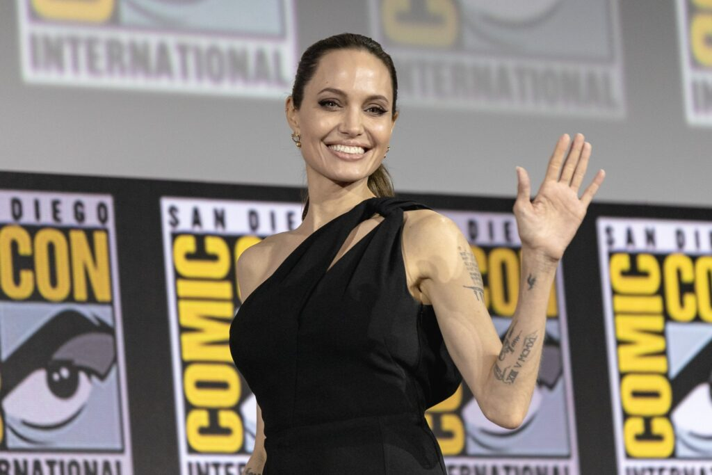 angelina jolie sdcc 2019