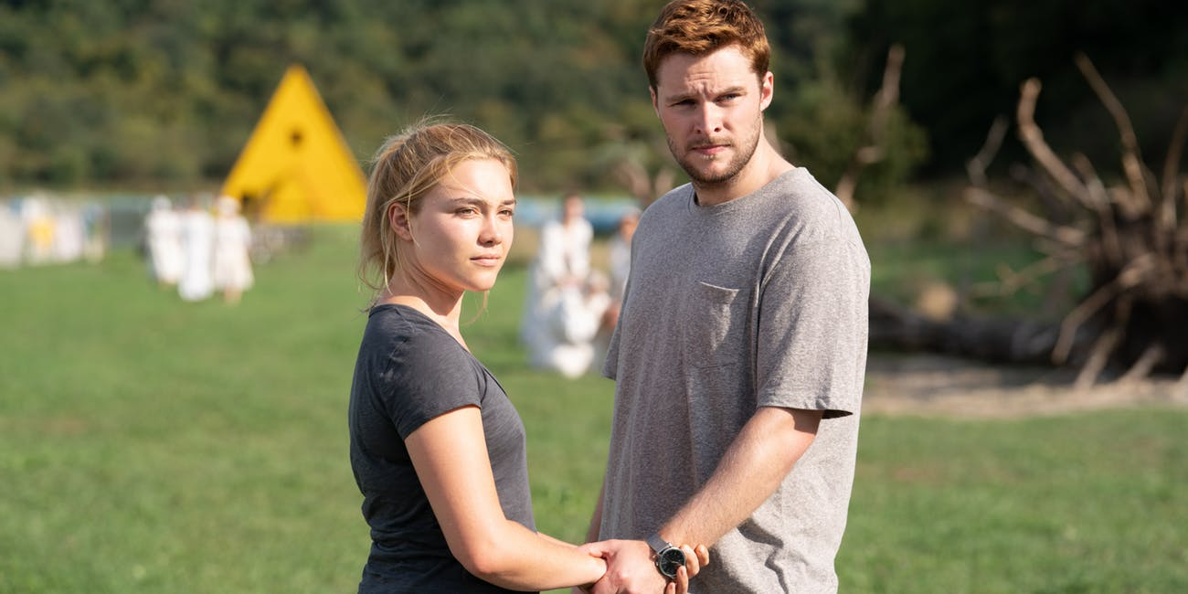 Florence Pugh and Jack Reynor in Midsommar