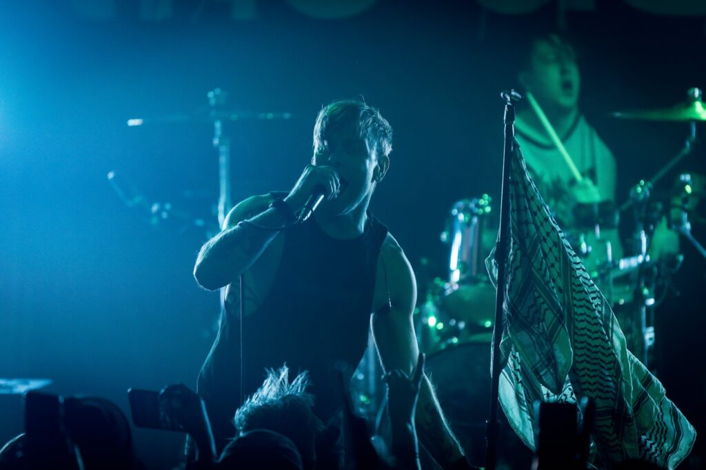 The Used performs at Crescent Ballroom in Phoenix, AZ on February 22, 2020.