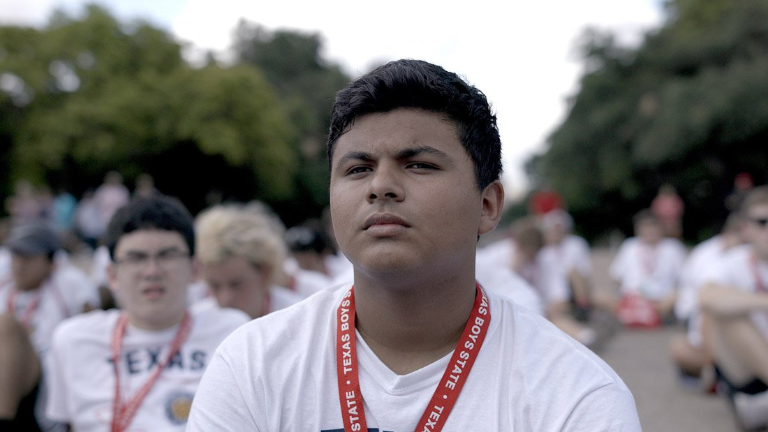 Steven Garza appears in Boys State by Jesse Moss and Amanda McBaine at Sundance 2020