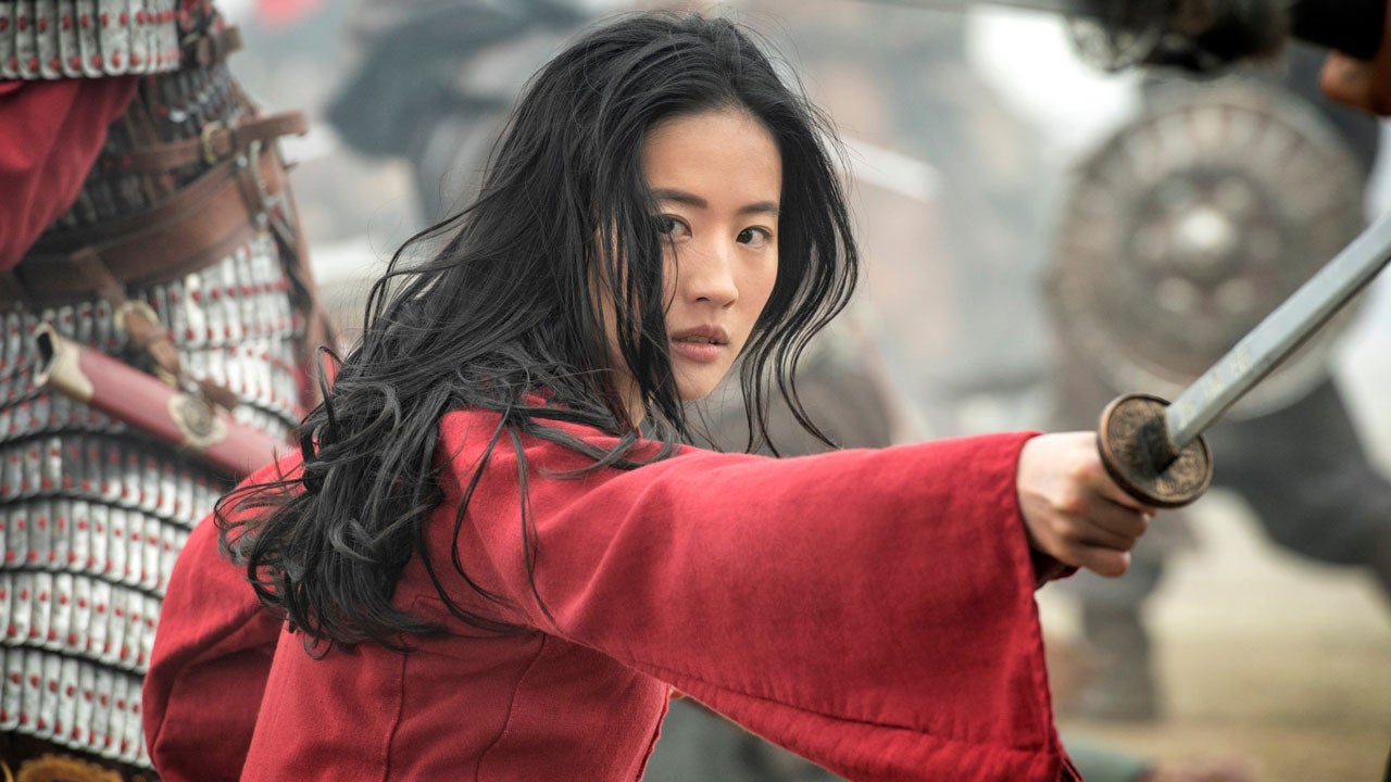 Liu Yifei in Disney's live-action MULAN remake